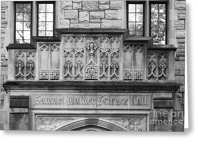 Kenyon College Samuel Mather Hall Greeting Card by University Icons