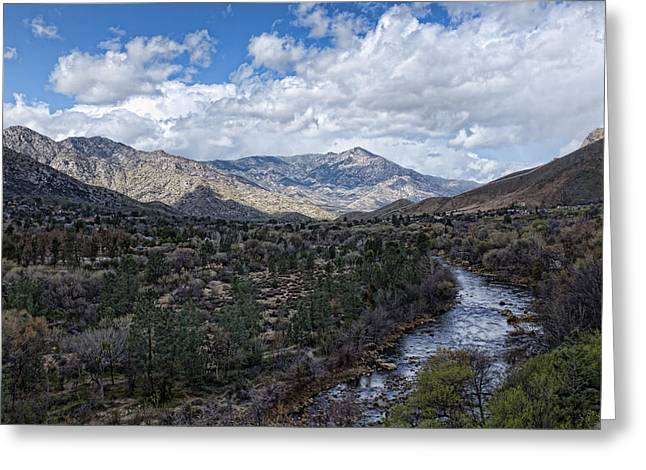 Ewing Greeting Cards - Kern River at Ewing Falls Greeting Card by Hugh Smith