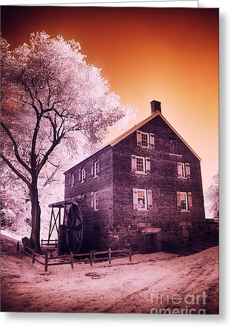 Historic Site Digital Greeting Cards - Kerr Mill Greeting Card by Dan Carmichael