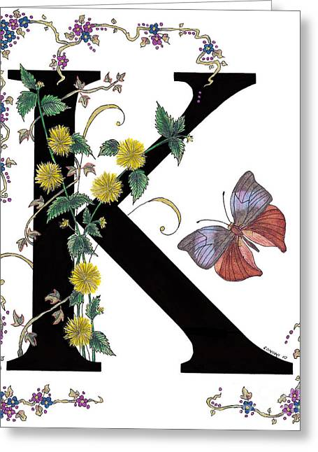Stanza Widen Greeting Cards - Kerria Japonica and Koh-I-Noor Butterfly Greeting Card by Stanza Widen