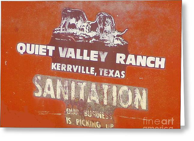 Humorous Greeting Cards Photographs Greeting Cards - Kerrville Folk Festival Greeting Card by Joe Jake Pratt