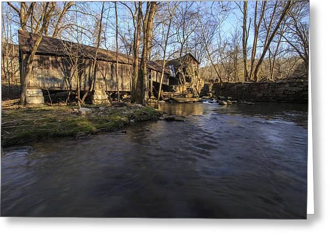 Ewing Greeting Cards - Kesterson Mill Greeting Card by Brandon Dean