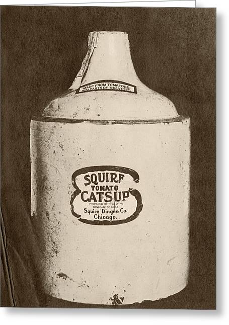 Ketchup Bottle Greeting Card by Us National Archives