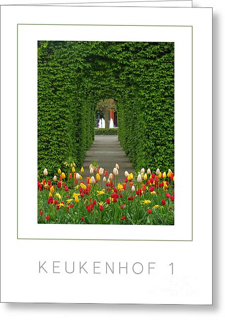 Mike Nellums Greeting Cards - Keukenhof 1 poster Greeting Card by Mike Nellums