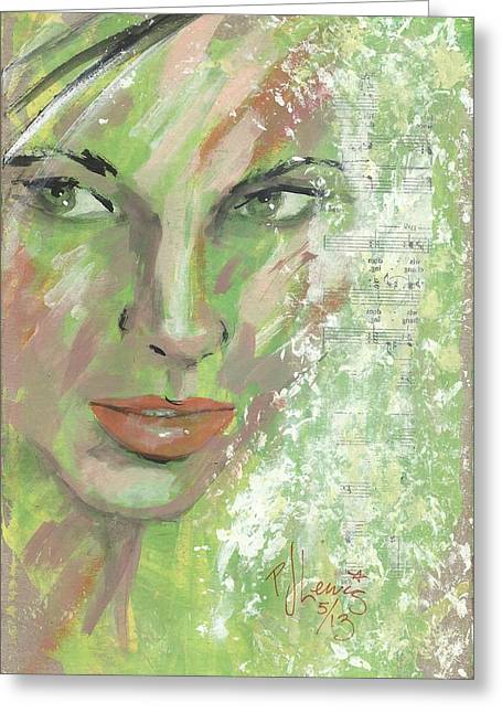 Lime Drawings Greeting Cards - Key Lime Greeting Card by P J Lewis