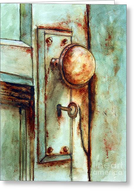 Tim Ross Greeting Cards - Key to Many Memories Greeting Card by Tim Ross