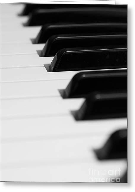 Keyboard Greeting Card by Svetlana Sewell