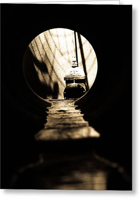 Drain Greeting Cards - Keyhole Dreams Greeting Card by Jessica Brawley