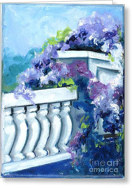 Indiana Paintings Greeting Cards - Keystone Bridge Greeting Card by Gedda Runyon Starlin