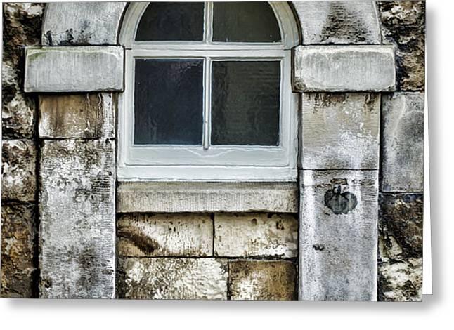 Keystone Window Greeting Card by Heather Applegate