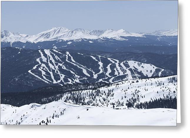 Summit County Colorado Greeting Cards - Keystone  Greeting Card by Aaron Spong