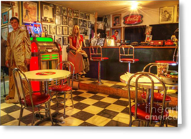 Hackberry Greeting Cards - Kickin On Route 66 Greeting Card by Bob Christopher