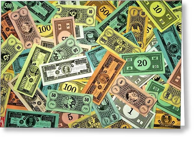 Kid Cash Greeting Card by Benjamin Yeager