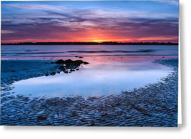 Maine Beach Greeting Cards - Kidney Pool Greeting Card by Michael Blanchette