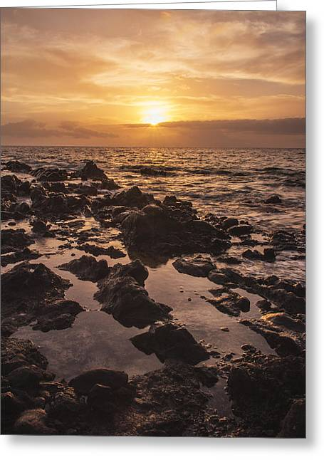 Amazing Sunset Greeting Cards - Kihei Sunset 1 - Maui Hawaii Greeting Card by Brian Harig