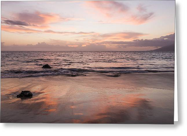 Brianharig Greeting Cards - Kihei Sunset 2 - Maui Hawaii Greeting Card by Brian Harig