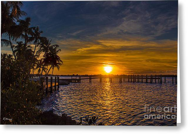 Isla Morada Greeting Cards - Kikin Back Greeting Card by Rene Triay Photography