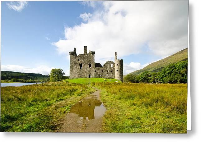 Kilchurn Castle Greeting Cards - Kilchurn Castle 2 Greeting Card by Chris Thaxter