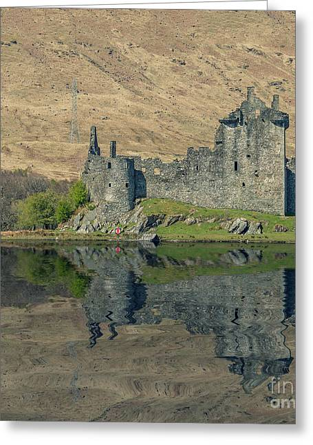 Historical Images Greeting Cards - Kilchurn Castle Greeting Card by Bahadir Yeniceri