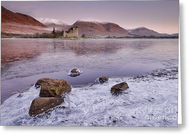 Bute Greeting Cards - Kilchurn Castle Greeting Card by Rod McLean