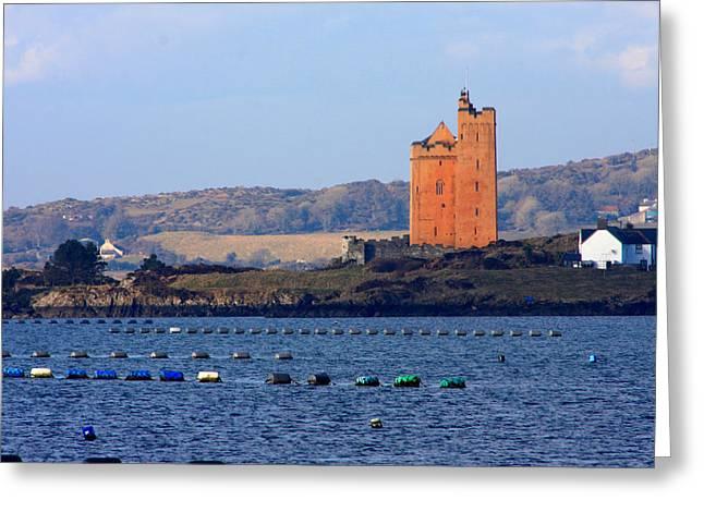 Borgia Greeting Cards - Kilcoe Castle Greeting Card by Mark Callanan