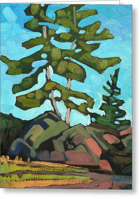 Algonquin Greeting Cards - Killarney Pines Greeting Card by Phil Chadwick
