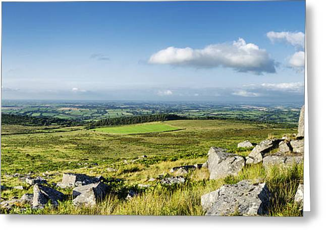 Tor Greeting Cards - Kilmar Tor in Cornwall Greeting Card by Helen Hotson