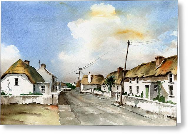 Tour Ireland Greeting Cards - Kilmore Quay Wexford Greeting Card by Val Byrne