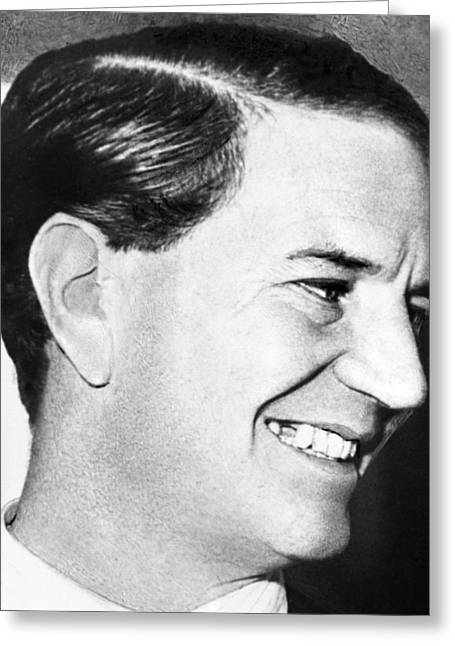 Kim Photographs Greeting Cards - Kim Philby, Soviet double agent Greeting Card by Science Photo Library