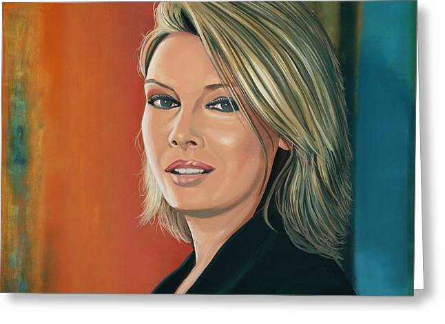 Pop Singer Greeting Cards - Kim Wilde Greeting Card by Paul  Meijering