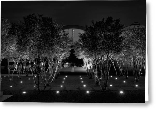 Proportions Greeting Cards - Kimbell After Dark Greeting Card by Joan Carroll