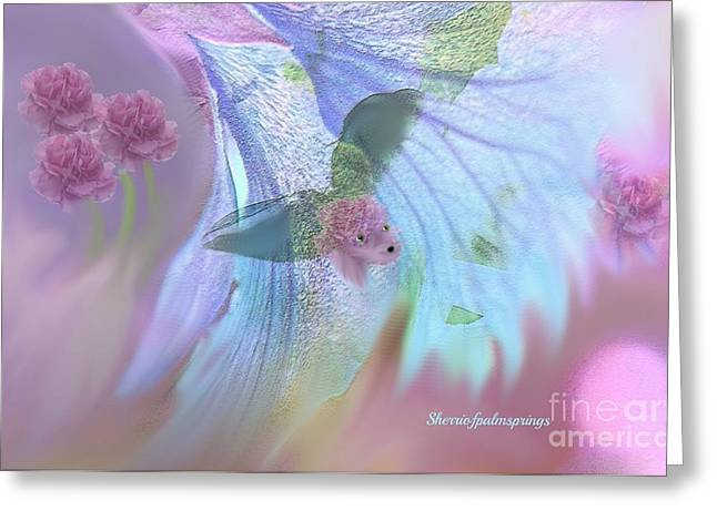 - Kind Of Cute and Kind Of Sweet Greeting Card by Sherri  Of Palm Springs