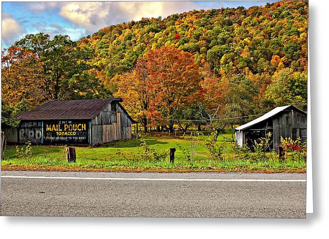 Wv Greeting Cards - Kindred Barns Greeting Card by Steve Harrington