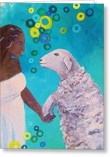 Kindred Spirits Greeting Cards - Kindred Spirits Greeting Card by B Waller