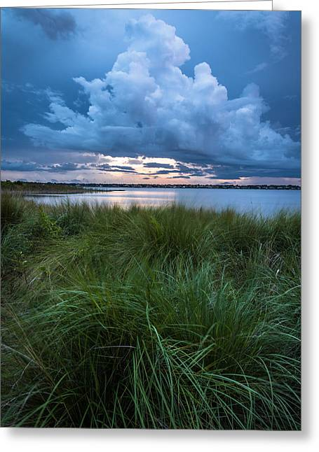 Cloud Formations. Cloud Photography Greeting Cards - King Cloud Greeting Card by Clay Townsend