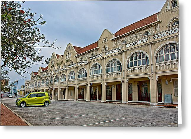 King Edward Hotel In Port Elizabeth-south Africa Greeting Card by Ruth Hager