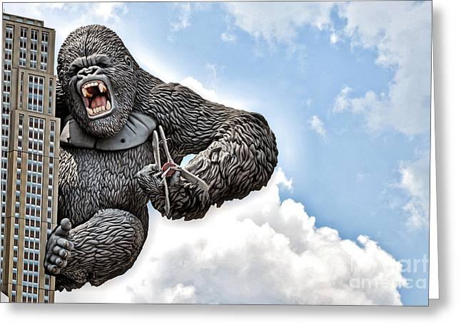 King Kong Greeting Cards - King Kong Greeting Card by AK Photography
