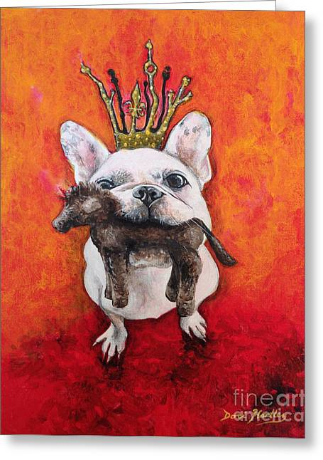 King Leroi Greeting Card by Dori Hartley