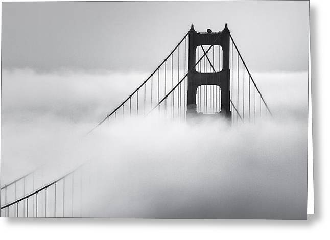 Famous Bridge Greeting Cards - King of the bay Greeting Card by Eduard Moldoveanu
