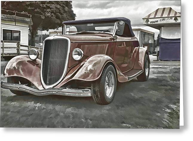 Ron Roberts Photography Framed Prints Greeting Cards - King of the Road II Greeting Card by Ron Roberts