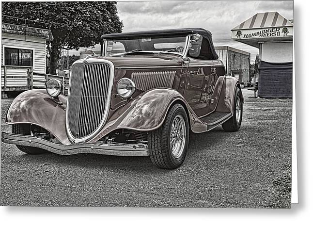 Ron Roberts Photography Framed Prints Greeting Cards - King of the Road Greeting Card by Ron Roberts