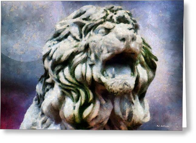 Constellations Greeting Cards - King of the Sky Greeting Card by RC deWinter