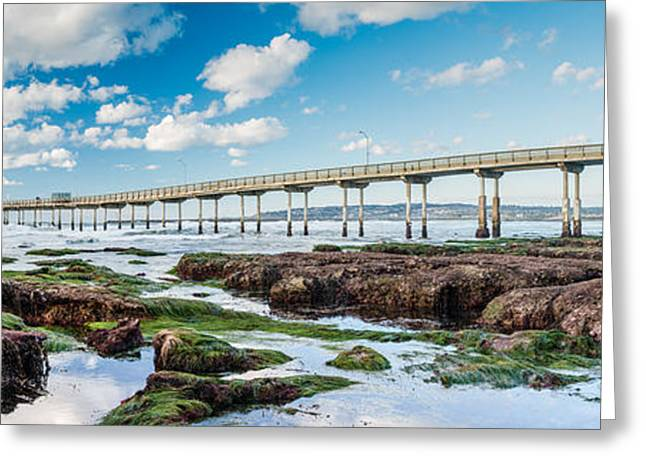 Tidal Photographs Greeting Cards - King Tide Three Greeting Card by Josh Whalen
