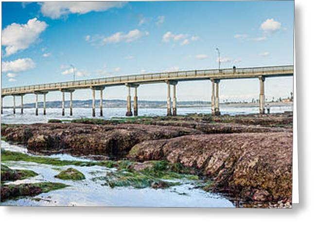 Tidal Photographs Greeting Cards - King Tide Two Greeting Card by Josh Whalen