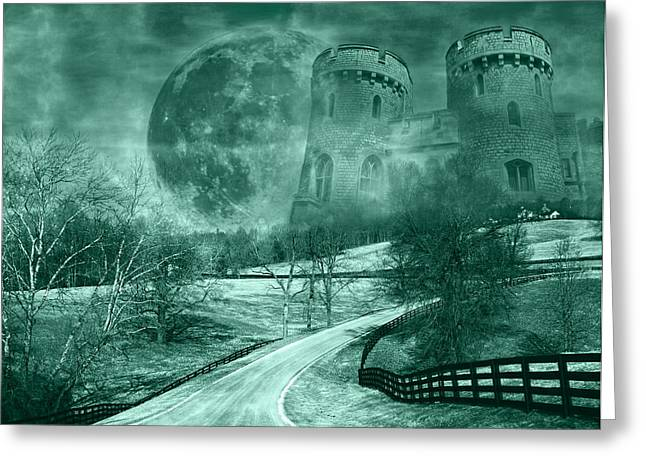 Mystical Landscape Greeting Cards - Kingdom of Oz Greeting Card by Betsy C  Knapp