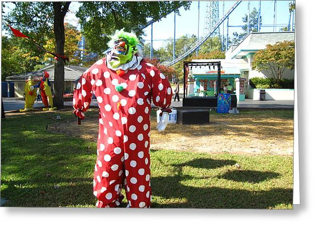 Va Greeting Cards - Kings Dominion - Halloween - 121210 Greeting Card by DC Photographer