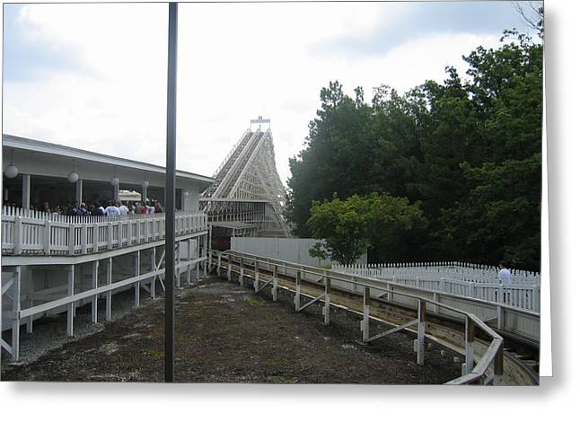 King Greeting Cards - Kings Dominion - Rebel Yell - 01131 Greeting Card by DC Photographer