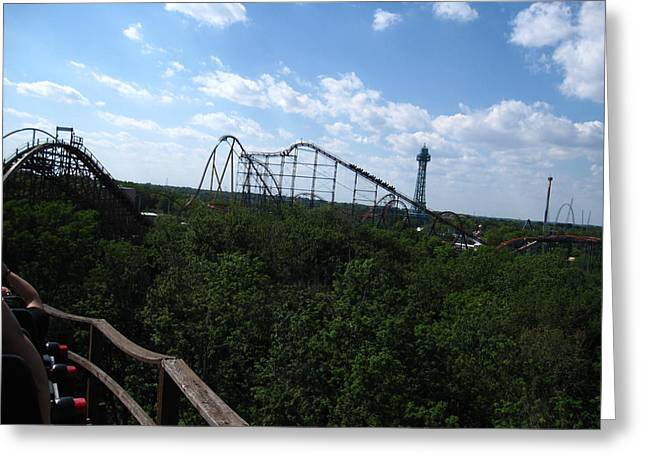 Mill Greeting Cards - Kings Island - 121218 Greeting Card by DC Photographer