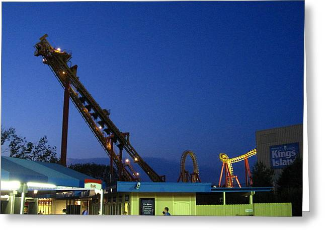 Kings Greeting Cards - Kings Island - 121241 Greeting Card by DC Photographer