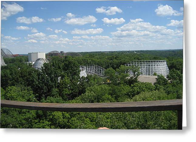 King Greeting Cards - Kings Island - 121258 Greeting Card by DC Photographer